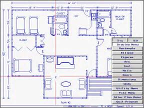 Plan Of House Home Plan Cad Shareware