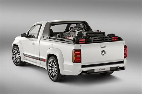 volkswagen vw volkswagen amarok power pickup unveiled photos 1 of 6