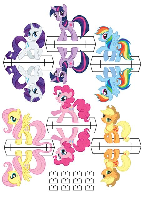 how to make a out of pony equestria daily mlp stuff pony cut out s