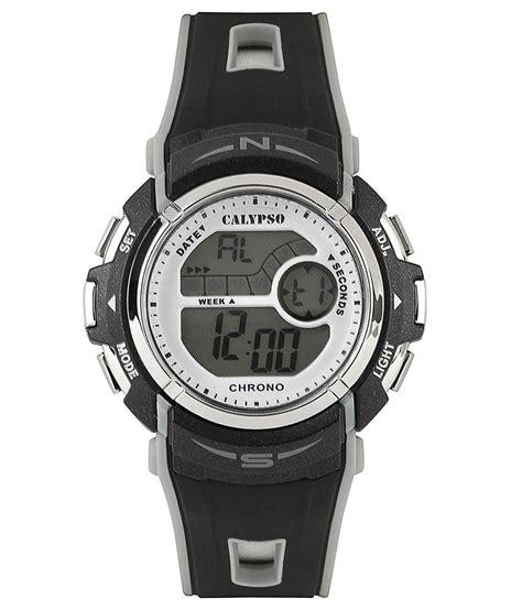 calypso stylish black digital for price in india
