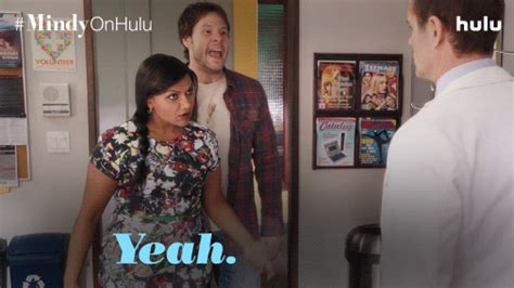 mindy kaling yes gif you do gifs find share on giphy