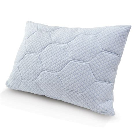 Cooling Pillow - cooling gel reversible memory foam loft pillow ebay