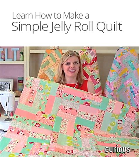 How To Make A Jelly Roll Quilt by Fat Quarter Shop How To Make A Simple Jelly Roll Quilt