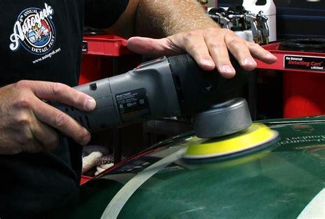 remove orange peel   porter cable dual action