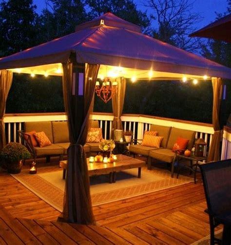 attrezzare un terrazzo illuminazione da esterni per giardini e terrazze da sogno