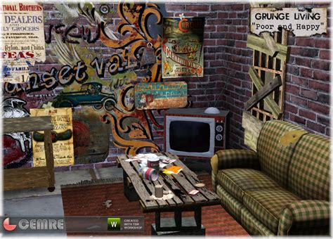 Shabby Chic Bedroom Furniture Set Cemre S Grunge Living Poor And Happy