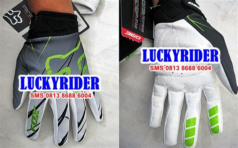 Sarung Tangan Fox 360 Hitam Gloves Bikers 3 lucky rider biker and cyclist apparels specialist be