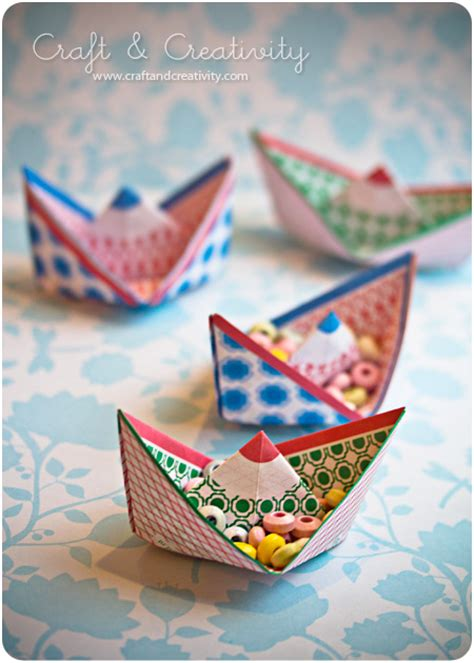 Craft Paper Boat - dagens pyssel pappersb 229 tar craft of the day paper boats