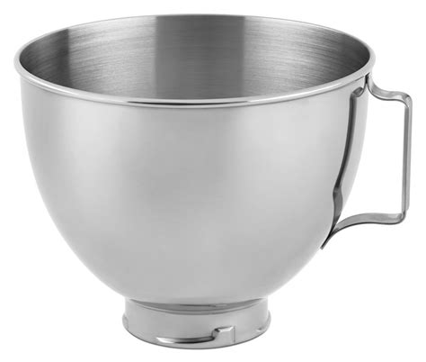 Kitchen Aid Mixer Bowl by Mixer Bowl K45sbwh 4 5 Quart Kitchenaid Replacement Artisan New Stainless Steel Ebay