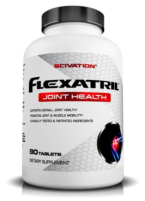 supplement for joint scivation flexatril targeted joint supplement