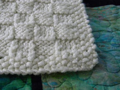 basket weave knit craftopotamus basketweave knit for baby