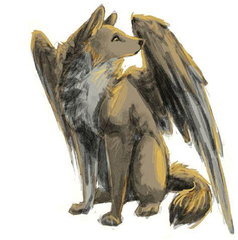 mythological dogs hainu japanese folklore a winged mythological creatures wolves