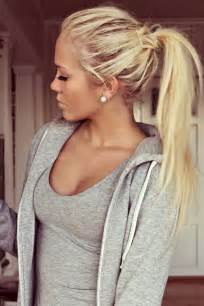 pintrest hair blonde hair ponytail pinterest crafts