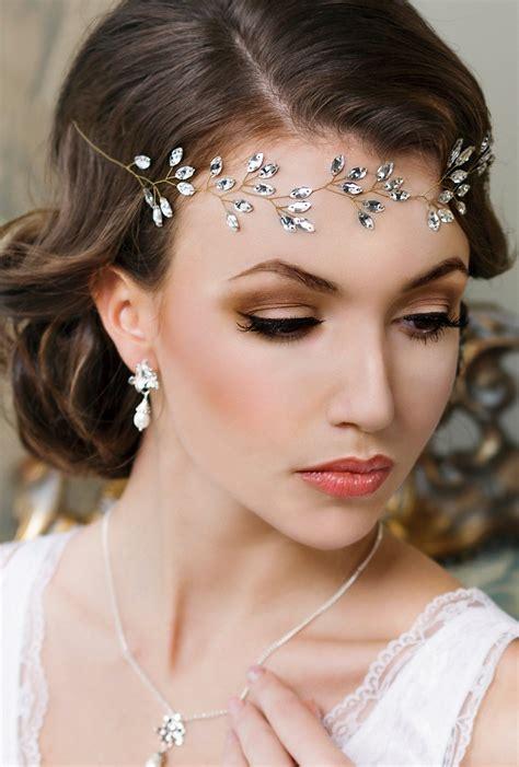 bridal headband headpiece tiara wedding hair