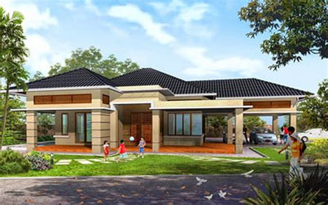 1 Story Homes by Single Story Homes Single Story House Designs One Story
