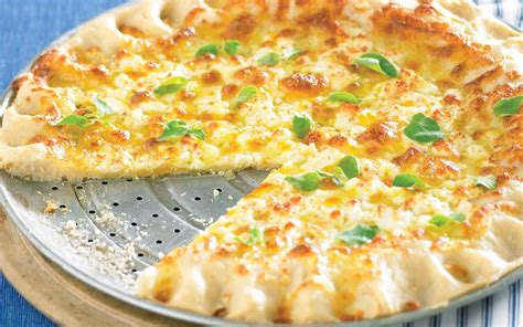 garlic cheese pizza recipe food to love