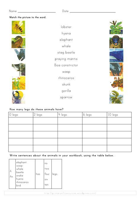 ladybird worksheets primary efl resources