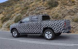 Toyota Truck 2016 2016 Toyota Hilux Truck Spied Completely