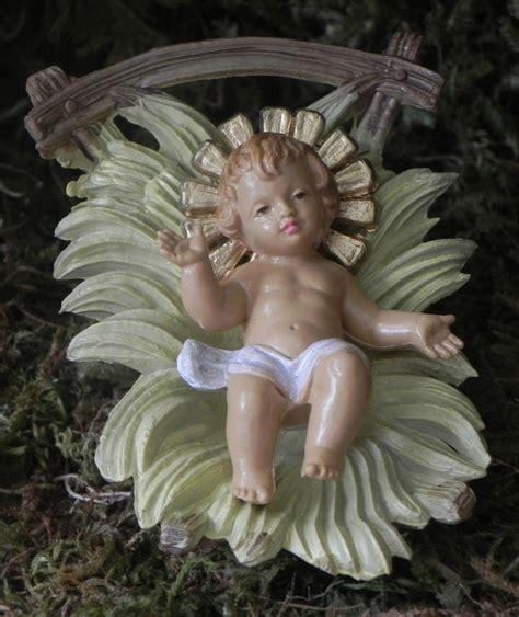baby jesus nativity set figurine creche manger scene