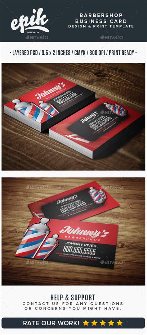 barber business card template barbershop business card template by flyerpunkz graphicriver