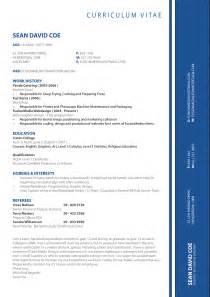 cv format design cv templates cv sles exle