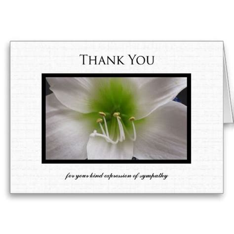 thank you letter condolence sle 16 best images about sympathy thank you cards on