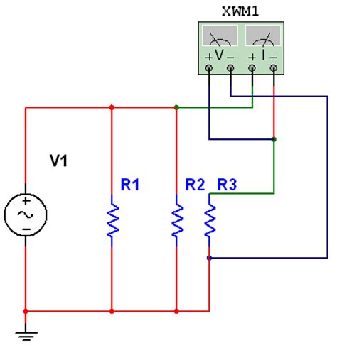 what type of meter is connected in parallel with a resistor in a circuit and why connecting a wattmeter in a parallel circuit discussion forums national instruments