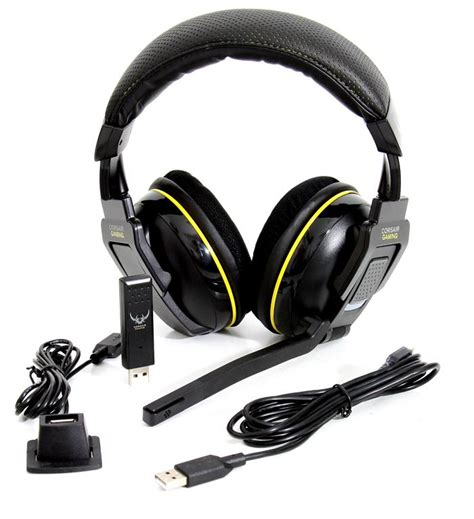 Headset Gaming Corsair corsair gaming h2100 wireless headset review introduction