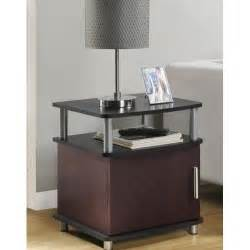 Living Room Tables With Storage End Table Cherry Black Living Room Furniture Contemporary Storage Accent Tables Ebay