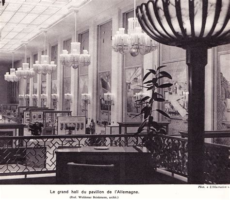 pavillon allemand 1937 du pavillon allemand photo de architectures de l