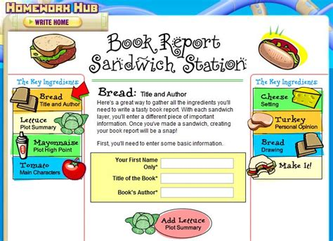what makes a book report 21 best images about food book report projects on