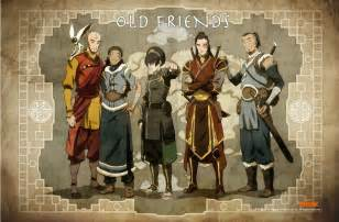 Old friends quot avatar the legend of korra photo 31596089 fanpop