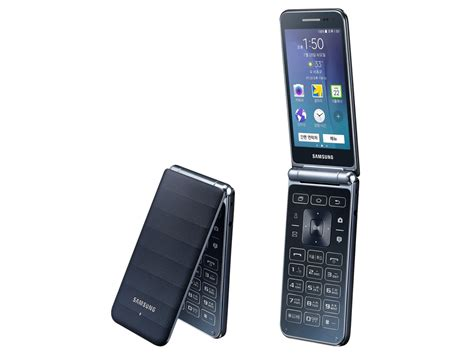 newest android phone the galaxy folder is samsung s flip phone running android android central