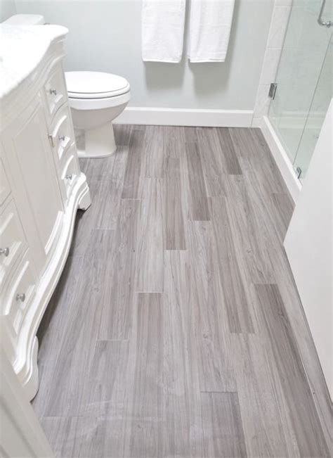 Vinyl Wood Flooring Bathroom Design Laminate Tile Flooring For Bathroom Peenmedia