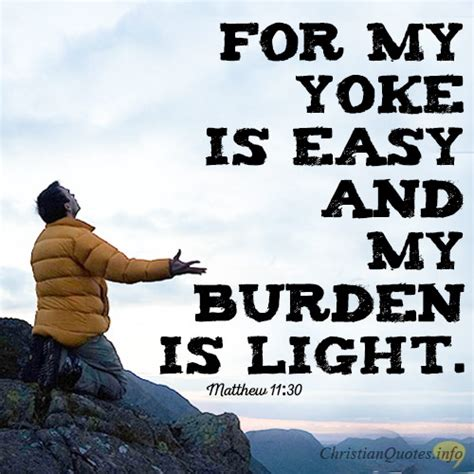 Burden Is Light by 3 Ways Jesus Bears Our Burdens Christianquotes Info