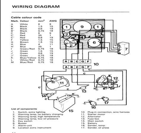 wiring diagram volvo penta d275 free wiring