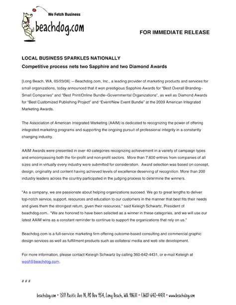 Media Release Letterhead Sle Company Letterhead Search Results Calendar 2015