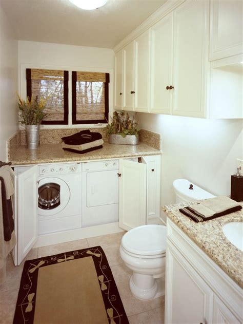laundry in bathroom ideas bathroom laundry room combinations myideasbedroom