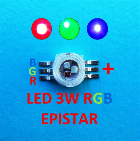 High Power Led Hpl 3w Merah 620 630nm 20 28v 130 140lm jual high power led hpl 3w rgb green blue merah hijau biru 460 623nm arfanstore