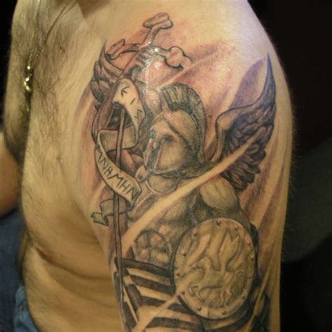 christian warrior tattoo 30 astonishing tattoos creativefan