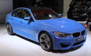 Bmw M3 2015 2015 Bmw M3 And M4 Preview