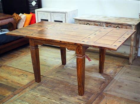 tavolo indiano tavolo indiano etnico allungabile in legno massello di noce