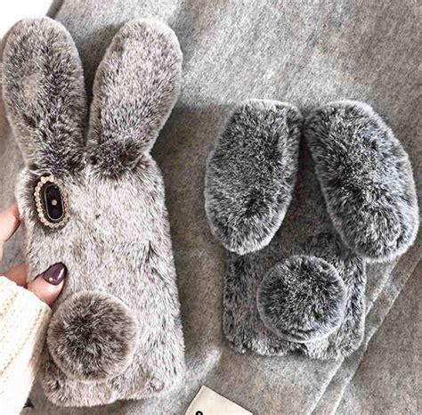 plush rabbit phone case  iphone xr case  gadgets