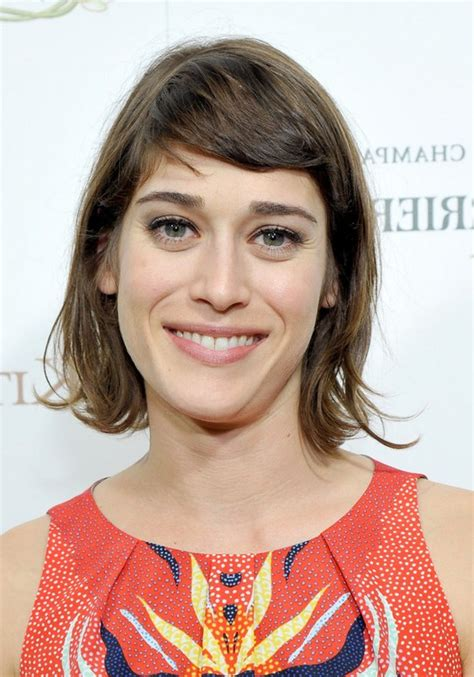 lizzy caplan short bangs short hairstyles for fine curly hair 2014 hairs picture