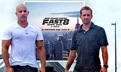 alan walker paul walker vin diesel shares poster of first fast furious film