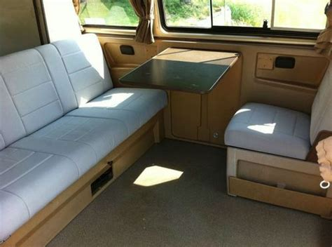 vanagon upholstery buy used 1986 volkswagen vanagon westfalia weekender new