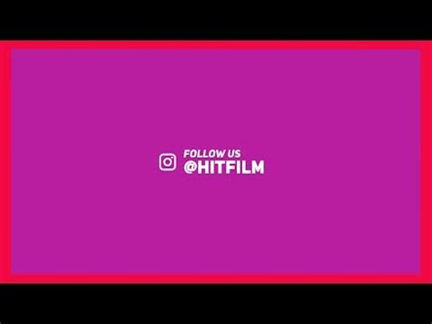 Hitfilm Express Modern Title Animation Tutorial Doovi Hitfilm Lower Thirds Templates