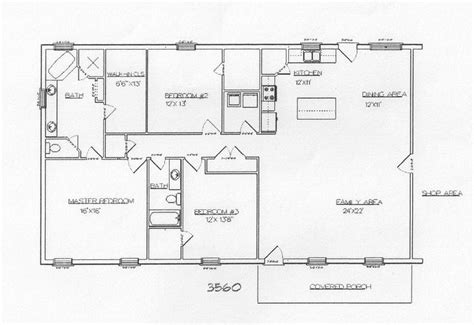 barndominium house plans barndominium and metal building plans floor plans pinterest