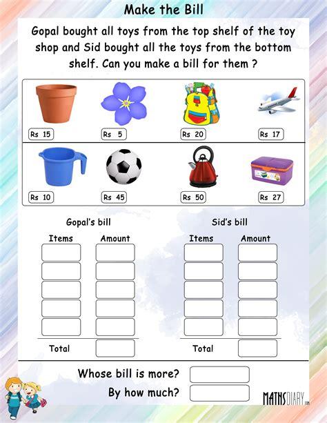 counting grade 2 math worksheets