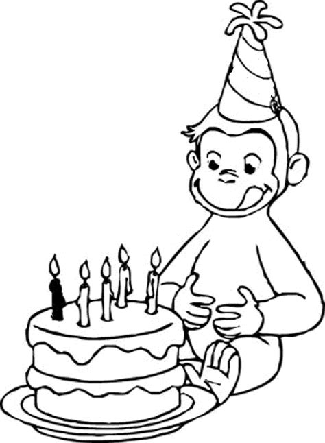 george coloring book page curious george coloring pages to print coloring home